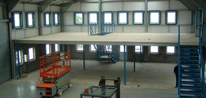 Jigfloor mezzanine flooring and mezzanine floor specialists for Mezzanines by design